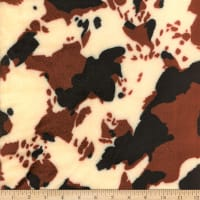 Coral Fleece Cow Brown