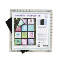 June Tailor Just Add T-Shirts Quilt Kit Sashing Black