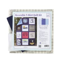 June Tailor Just Add T-Shirts Quilt Kit Navy