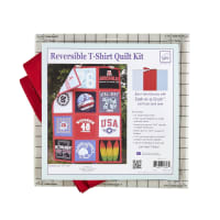 June Tailor Just Add T-Shirts Quilt Kit Sashing Red