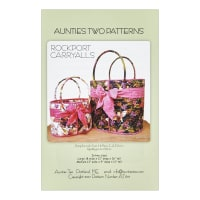 Aunties Two Rockport Carryalls Pattern By Carol McLeod