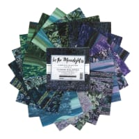 """Kaufman 5"""" Charm Squares In The Moonlight 42pcs"""