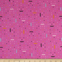 Kaufman Totally Twilight Triangles Candy Pink