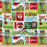 Kaufman How The Grinch Stole Christmas Patch Holiday