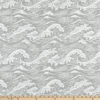 Bella Dura Home Performance Outdoor Great Wave Woven Platinum
