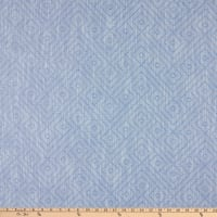 Bella Dura Home Performance Outdoor Birk Woven Jacquard Chambray