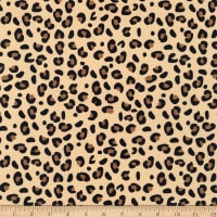Riley Blake Spotted Leopard Tan