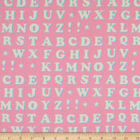 Paintbrush Studio Let The Good Times Roll Letters Pink
