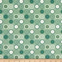 Paintbrush Studio Sewing Mood Large Buttons Forest Green