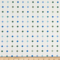 Paintbrush Studio Sewing Mood Small Buttons Blue/Green