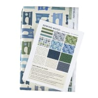 Paintbrush Studios Sewing Mood 12 pc Flat Fat Stack in Cool