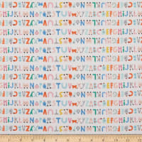 Paintbrush Studio Animal Alphabet Stripe White