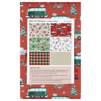Paintbrush Studio Home for Christmas 6 pc Flat Fat Stack