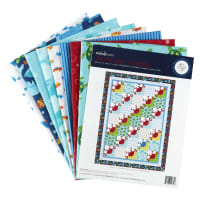 Michael Miller Under the Sea On the Tide Quilt Kit