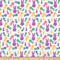Cotton Easter Bunnies Multi