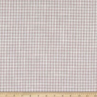 Telio Cotton Linen Blend Yarn Dyed Gingham Small Check White/Pink