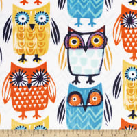 Shannon Digital Minky Cuddle Know-It-Owl Multi