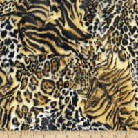 Shannon Minky Luxe Cuddle Wildcat Bengal