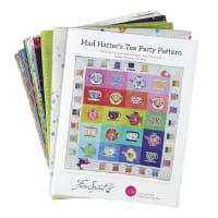Tula Pink Curiouser and Curiouser Mad Hatter Tea Party Quilt Kit