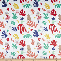 Michael Miller Fabrics Minky Lola Dutch Loves Matisse Cherry