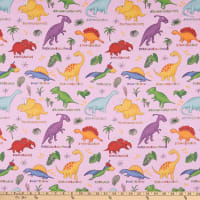Lost World Dinosaurs Pink/Multi