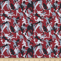 Super Sports Football Camo Player Red/Grey