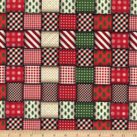 Wrapped Ribbons Red/Green