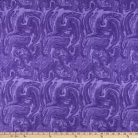 """Westrade Textiles 108"""" Cotton Wide Back Waves Purple"""