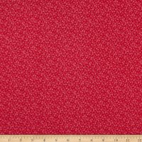 Westrade Cotton Blender Ditzy Red