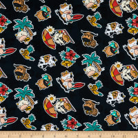 Trans-Pacific Textiles Year of the Ox Black