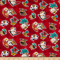 Trans-Pacific Textiles Year of the Ox Red