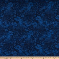 Trans-Pacific Textiles Coconut Patch Navy