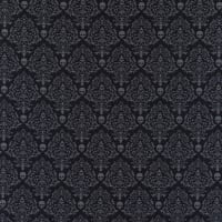 Spooky Night Spooky Small Damask Black