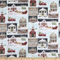 3 Wishes Home for the Holidays Patch Multi