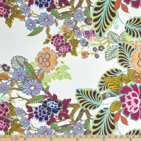 Fabtrends Georgette Floral Multi