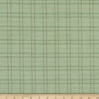 TR Yarn Dyed Suiting Plaid Green