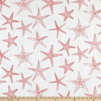 Scott Living Starfish Luxe Canvas Sunset Coral