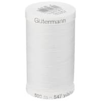 Gutermann Sew-all Polyester All Purpose Thread 500m/547yds White