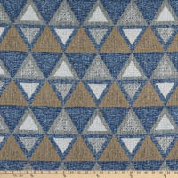 Performatex Our Town Outdoor Jacquard Blue Mix