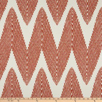 Performatex Spire Outdoor Chenille Jacquard Coral