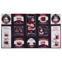 """Wilmington Time for Hot Cocoa Craft 24"""" Panel Multi"""