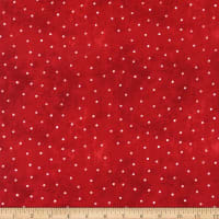 Wilmington Time for Hot Cocoa Dots Red