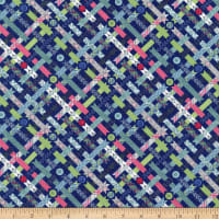 Wilmington Sew Little Time Ribbons and Buttons Blue
