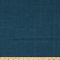 Basketweave Backed Upholstery Turbo Solid Navy