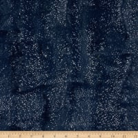 Shannon Minky Luxe Cuddle Dazzle Navy/Silver