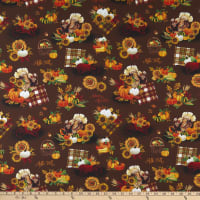 Whistler Studios One Of A Kind Happy Harvest Brown