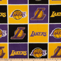 NBA LA Lakers Block Fleece Multi