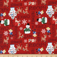 Character Winter Holiday II Rudolph Character Names Red
