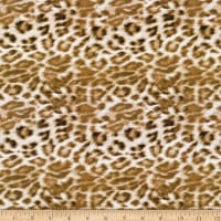 3 Wishes Digital Global Luxe Cotton Leopard Multi