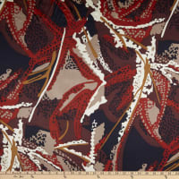 Silk Charmeuse Madhatter Red